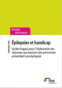 Couverture du guide de la CNSA sur Epilepsie et Handicap